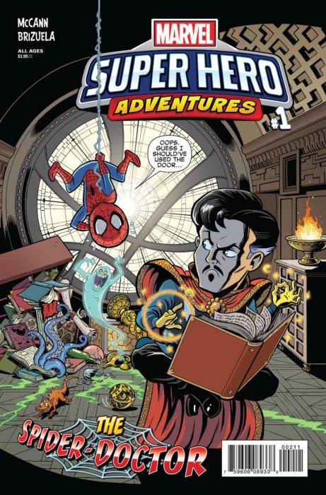 Marvel Super Hero Adventures - The Spider-Doctor #1