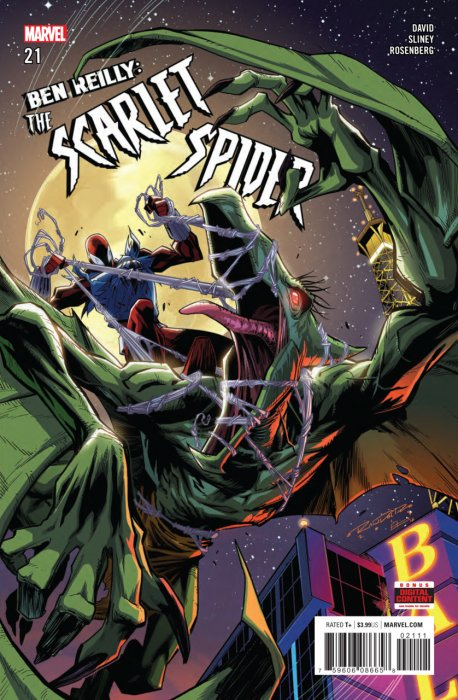 Ben Reilly - Scarlet Spider #21