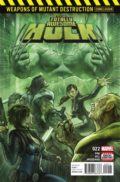 The Totally Awesome Hulk #22