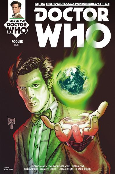 Doctor Who - The Eleventh Doctor Year Three #8