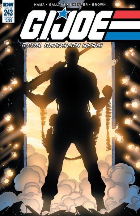 G.I. Joe - A Real American Hero #243