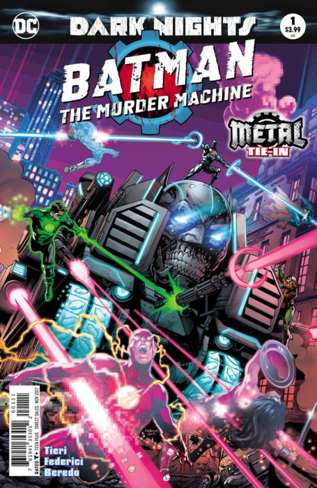 Batman - The Murder Machine #1