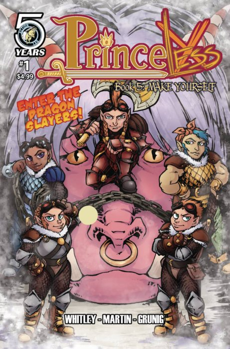 Princeless Book 6 - Make Yourself Part 2 #1-3 Complete