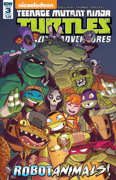 Teenage Mutant Ninja Turtles Amazing Adventures - Robotanimals #03