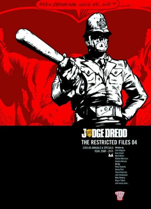 Judge Dredd - The Restricted Files Vol.4