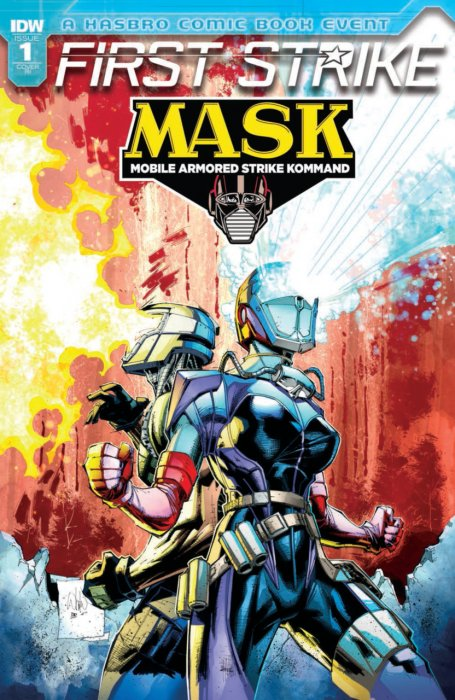 M.A.S.K. First Strike #1