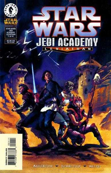 Star Wars - Jedi Academy - Leviathan #1-4 Complete
