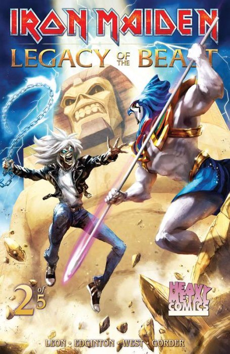 Iron Maiden Legacy of the Beast #2