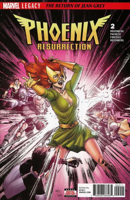 Phoenix Resurrection - The Return of Jean Grey #2
