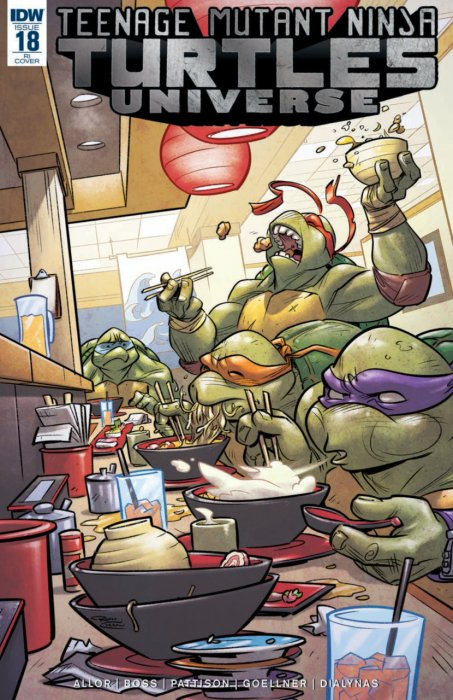 Teenage Mutant Ninja Turtles Universe #18