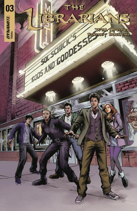 The Librarians #3