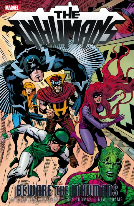 Inhumans Beware the Inhumans #1 - TPB