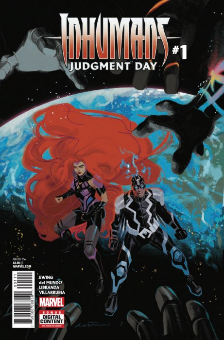 Inhumans - Judgment Day #1