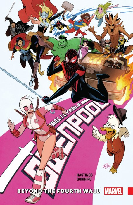 Gwenpool - The Unbelievable Vol.4 - Beyond The Fourth Wall