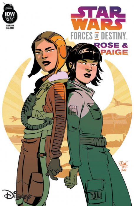 Star Wars Adventures - Forces of Destiny - Rose & Paige #1