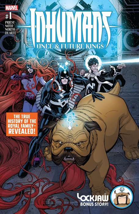 Inhumans - Once And Future Kings #1