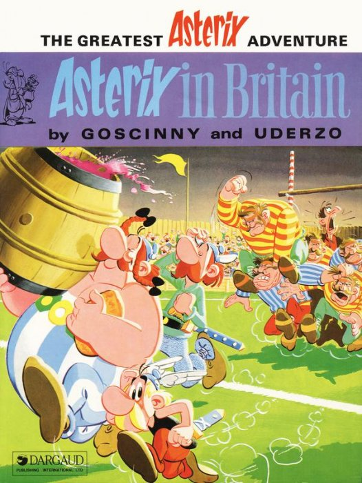 Asterix #8 - Asterix In Britain