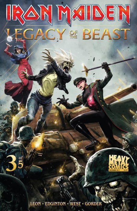 Iron Maiden Legacy of the Beast #3