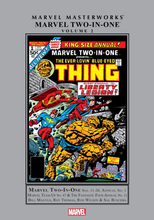 Marvel Masterworks - Marvel Two-In-One Vol.2
