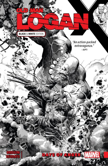 Wolverine - Old Man Logan Vol.6 - Days of Anger - Black and White