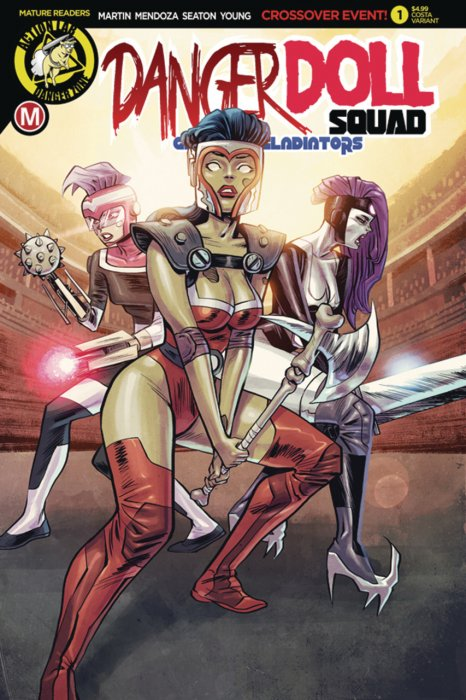 Danger Doll Squad - Galactic Gladiators #1