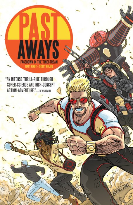 Past Aways - Facedown in the Timestream #1 - TPB