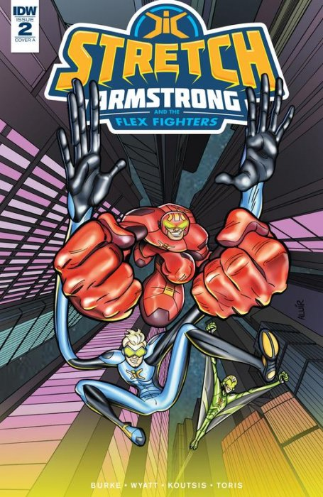 Stretch Armstrong and the Flex Fighters #2