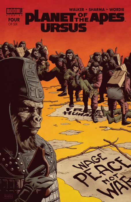 Planet of the Apes - Ursus #4