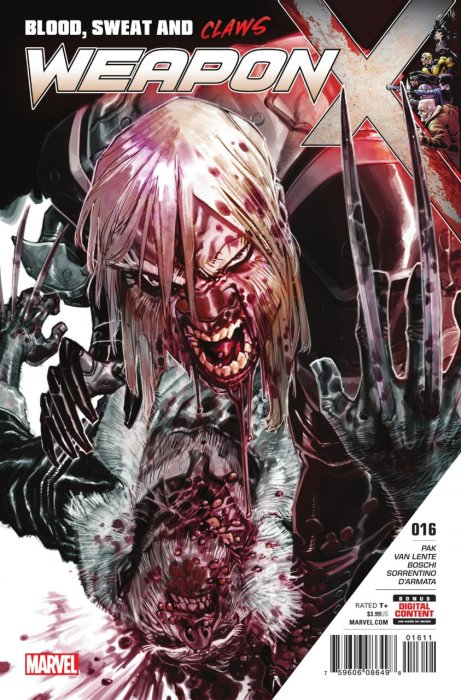 Weapon X #16