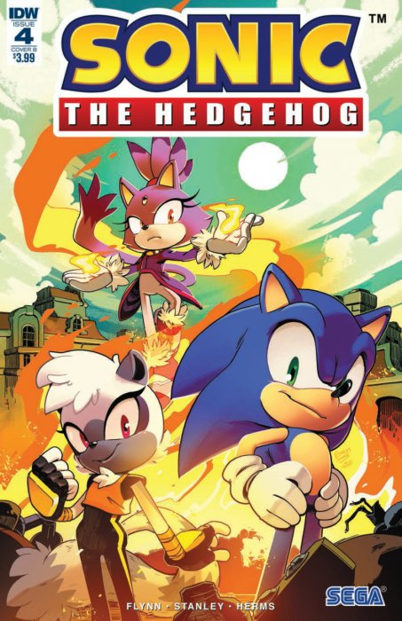 Sonic The Hedgehog #4