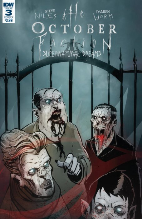The October Faction - Supernatural Dreams #3
