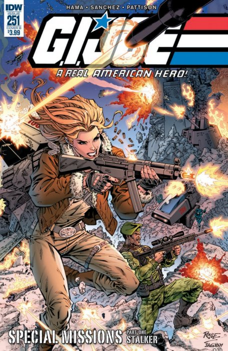 G.I. Joe - A Real American Hero #251