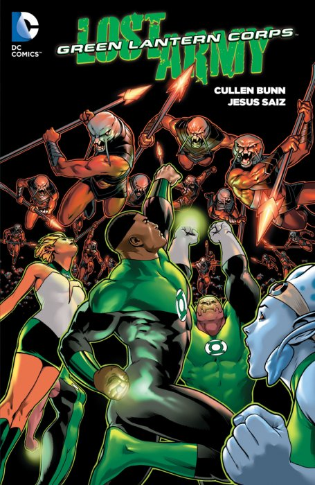 Green Lantern Corps - The Lost Army #1 - TPB