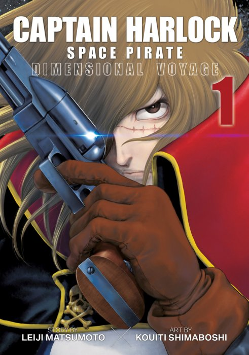 Captain Harlock Space Pirate - Dimensional Voyage Vol.1-4 Complete