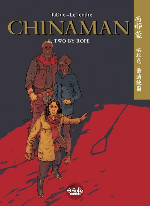 Chinaman #8 - Two by Rope