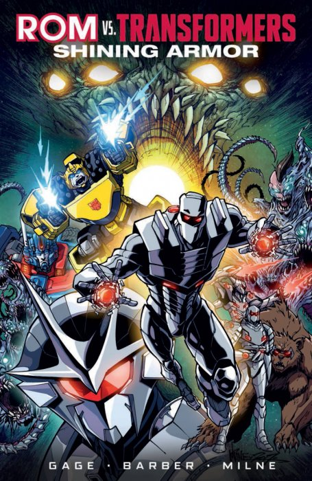 Rom vs. Transformers - Shining Armor #1 - TPB