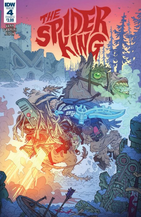The Spider King #4