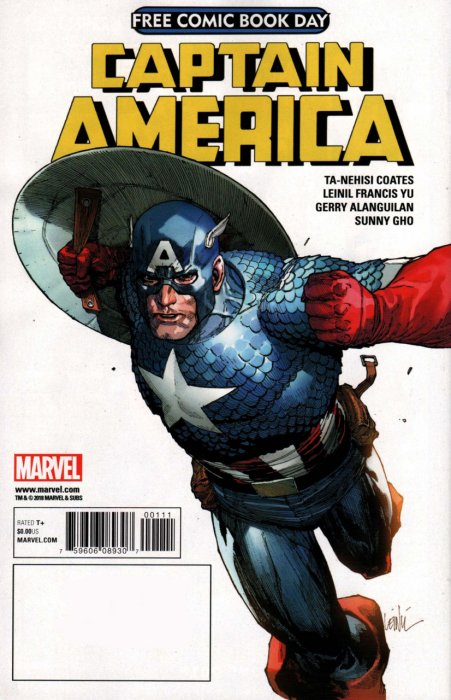 Free Comic Book Day 2018 - Avengers - Captain America #1