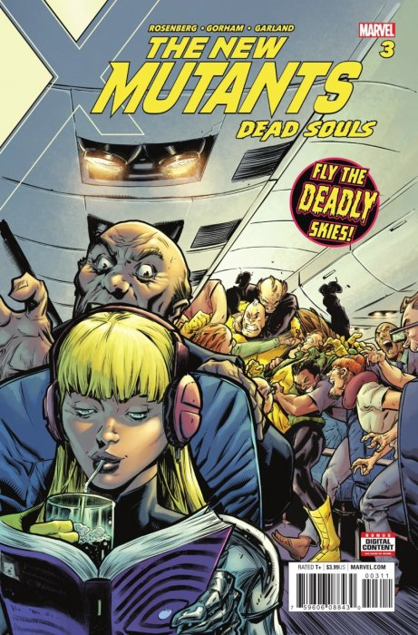 New Mutants - Dead Souls #3