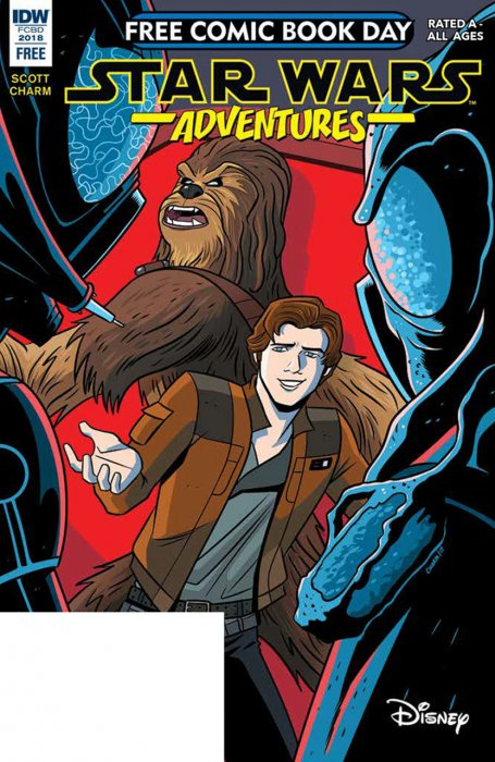 Star Wars Adventures - Free Comic Book Day 2018