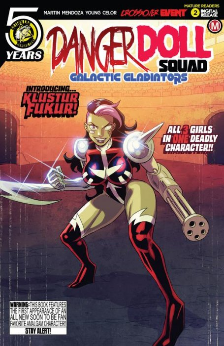 Danger Doll Squad - Galactic Gladiators #2