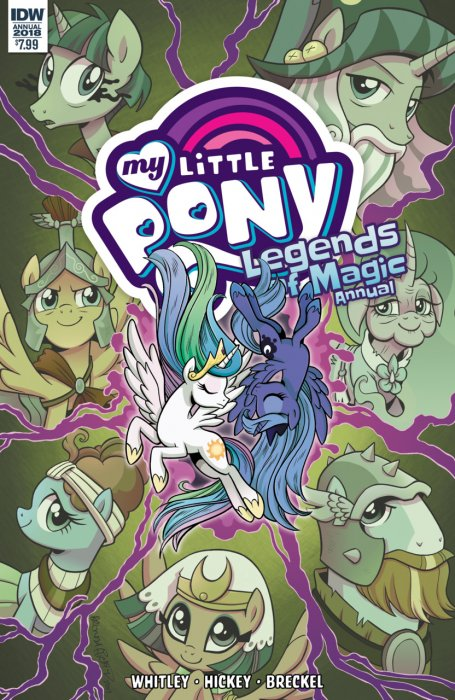 My Little Pony - Legends of Magic Annual 2018 #1