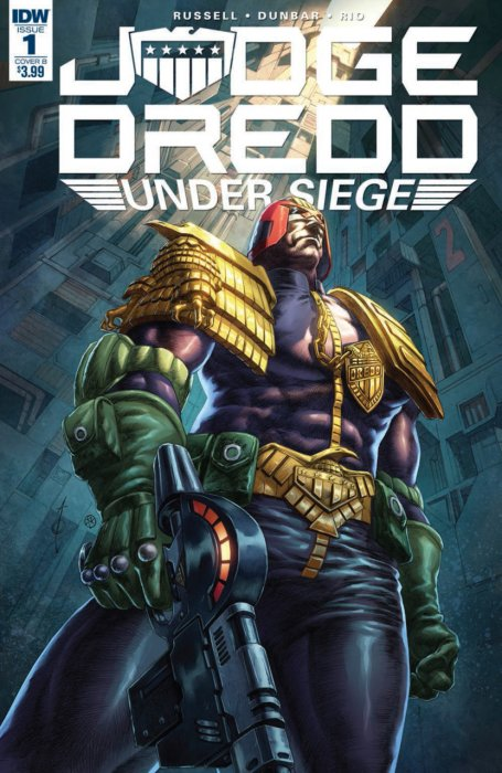 Judge Dredd - Under Siege #1