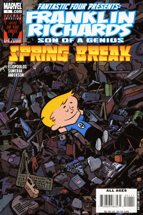 Franklin Richards - Spring Break