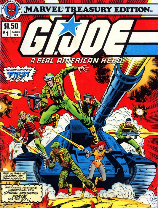 G.I. Joe A Real American Hero Special Treasury Edition