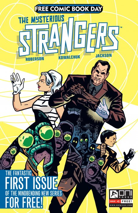 The Mysterious Strangers  #1-6 Complete