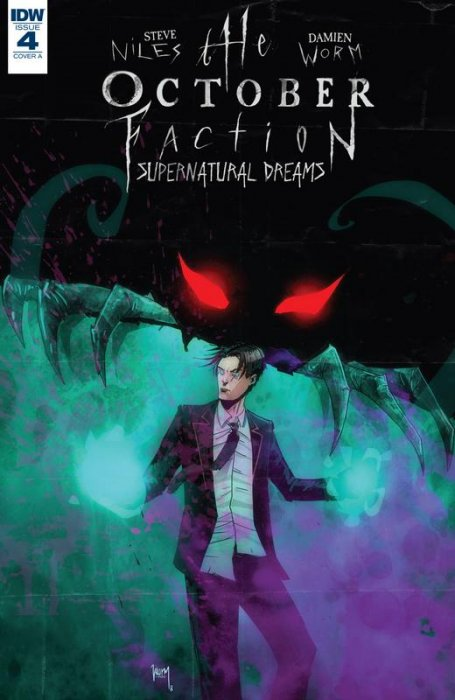 The October Faction - Supernatural Dreams #4