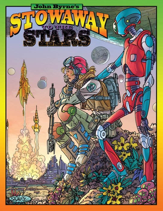 John Byrne's - Stowaway to the Stars #1 - GN