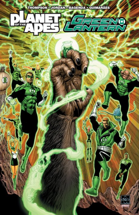Planet of the Apes - Green Lantern #1 - TPB