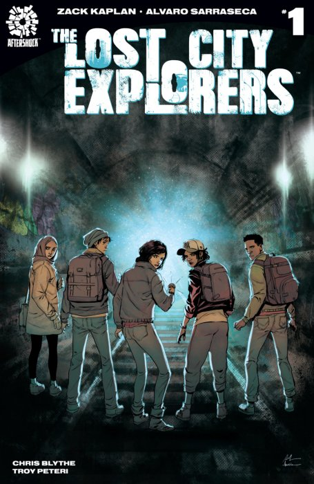 Lost City Explorers #1